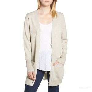 J.Crew Collection long Double Knit cardigan